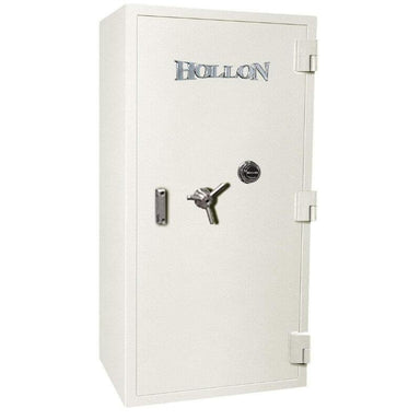 Hollon PM-5826E TL-15 Rated Safe with Dial Lock, Door Closed and Viewed Directly from the Front