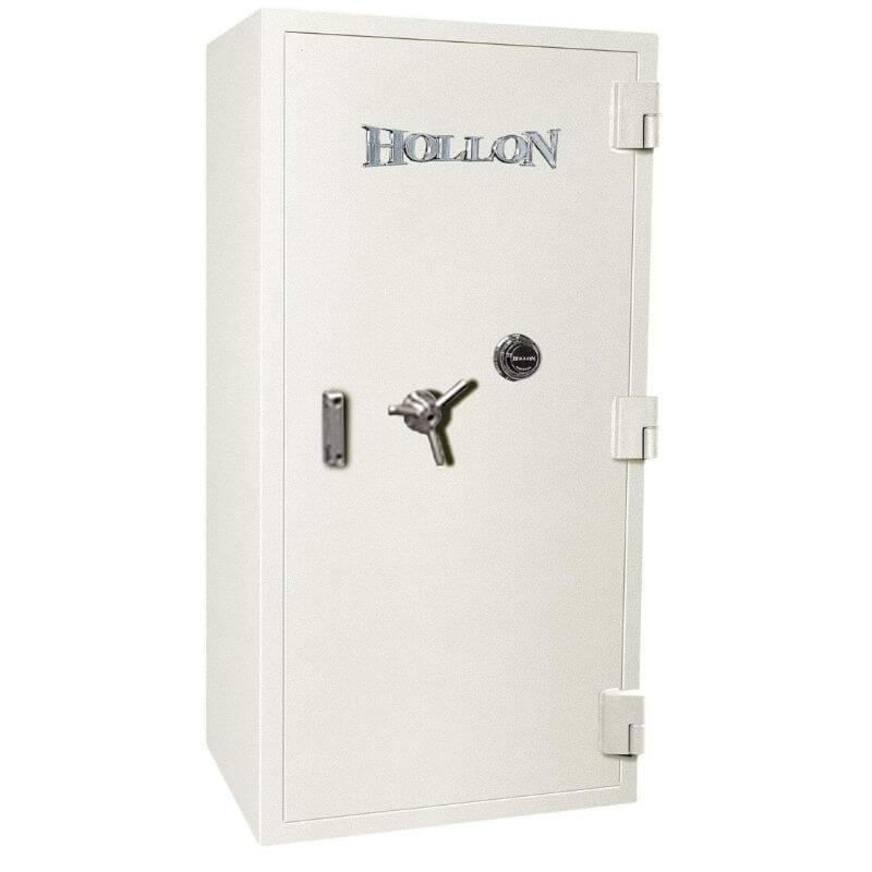 Hollon PM-5826C TL-15 Rated Safe with Dial Lock, Door Closed and Viewed Directly from the Front
