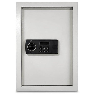 Hollon WSE-2114 Electronic Wall Safe with Electonic Lock, Door Closed, Viewed Directly from the Front