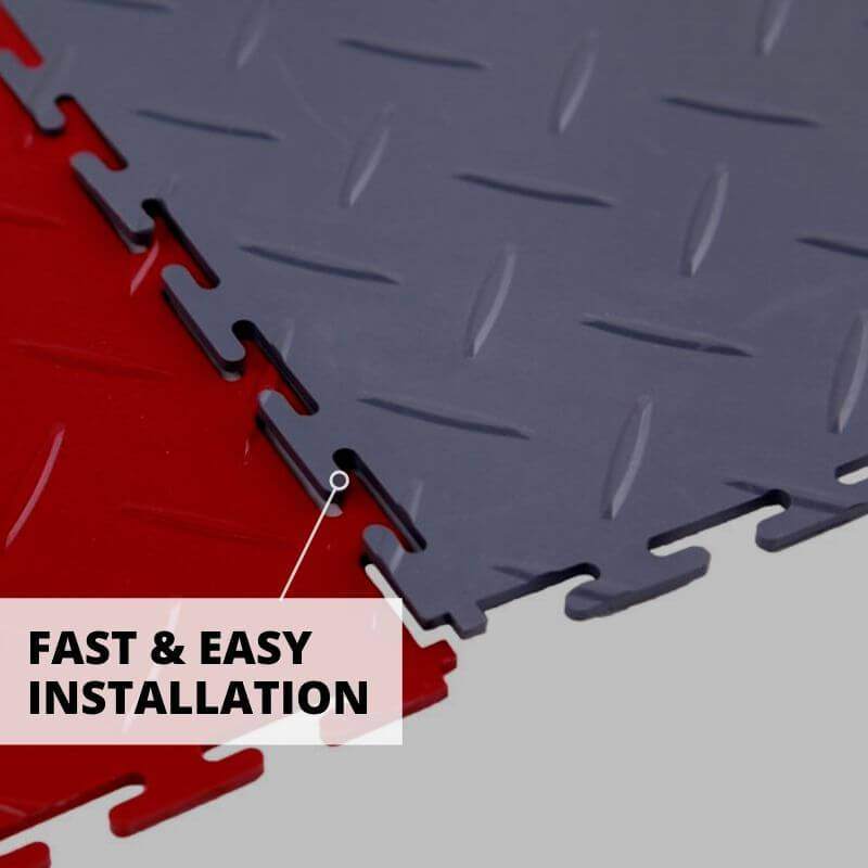 Fast & Easy Installation for Perfection Floor Diamond Tiles