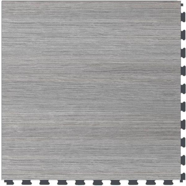 "Perfection Floor Tile Classic Wood Luxury Vinyl Tiles - 5mm Thick (20"" x 20"") with DriftWood Pattern Shown From the Top"