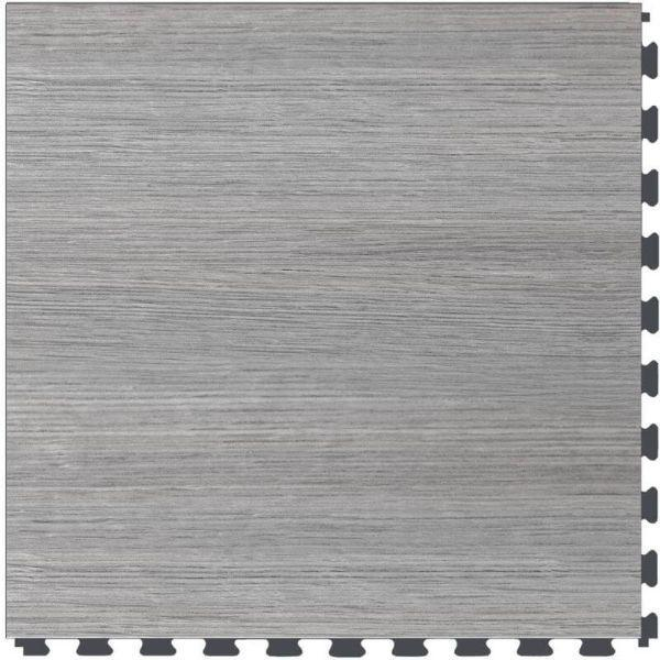 "Perfection Floor Tile Classic Wood Luxury Vinyl Tiles - 5mm Thick (20"" x 20"") with Drift Wood Pattern Shown From the Top"