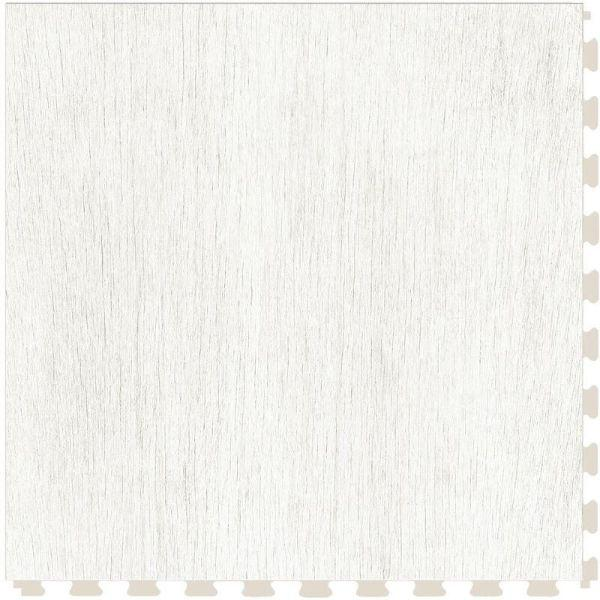 "Perfection Floor Tile Deadwood Luxury Vinyl Tiles - 5mm Thick (20"" x 20"") with Death Valley Wood Pattern Shown From the Top"