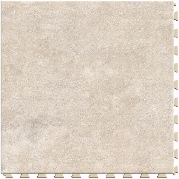 "Perfection Floor Tile Slate Stone Luxury Vinyl Tiles - 5mm Thick (20"" x 20"") with Fairstone Pattern Shown From the Top"