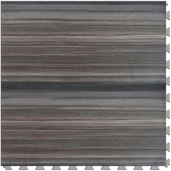 "Perfection Floor Tile Natural Creek Stone Luxury Vinyl Tiles - 5mm Thick (20"" x 20"") with Ledge Stone Pattern Shown From the Top"