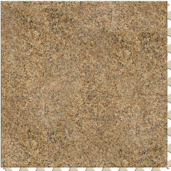 "Perfection Floor Tile Natural Creek Stone Luxury Vinyl Tiles - 5mm Thick (20"" x 20"") with Madura Stone Pattern Shown From the Top"
