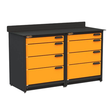 Swivel Storage Solutions PB2803608 2-Piece Combination Package From Front Left with Drawers Closed