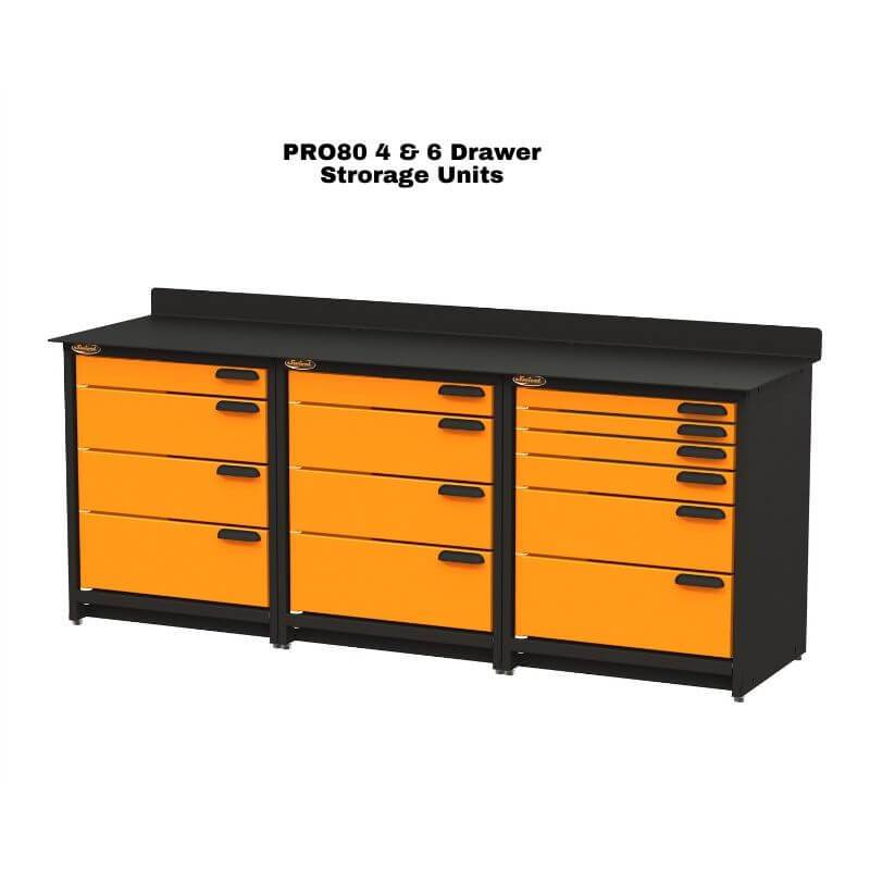 Swivel Storage Solutions PB3803614 3-Piece Combination Package With Each Individual Component Labeled