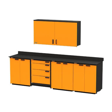 Swivel Storage Solutions PB3804D6 5-Piece Combination Package Front Right View with All Drawers and Cabinets Closed