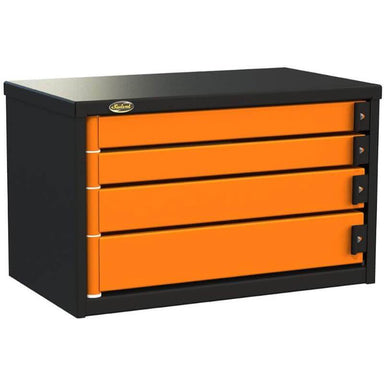 "Swivel Storage Solutions PRO 34 Series 30"" Service Body/Van Tool Box With 4 Drawers and Front Left View with Drawers Closed"