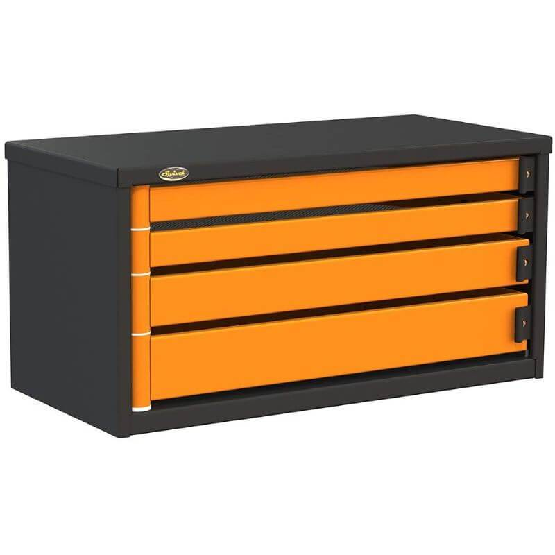 "Swivel Storage Solutions PRO 36 Series 36"" Service Body/Van Tool Box With 4 Drawers Front Left View with Drawers Closed"