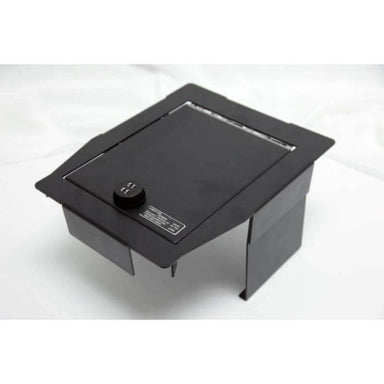 Locker Down LD2045 vehicle console safe for Ford F-150, F-250, F-350, F450 and Raptor 2015-2020  viewed of the top cover.