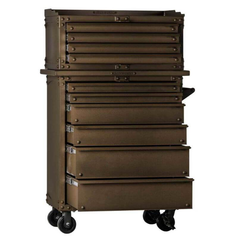 "Ironworks IWTC1535D Tool Chest | 15""H x 35""W x 21""D 