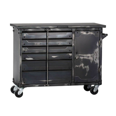 "Ironworks IWTC4355D Tool Chest | 43""H x 55""W x 23""D shown in front view with white background."