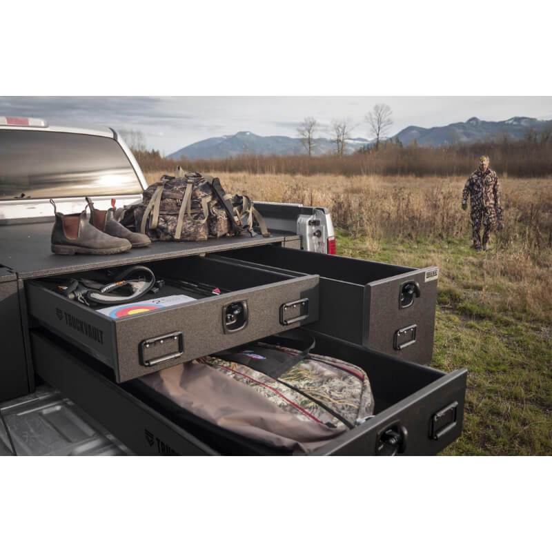 Truckvault for Nissan Titan Pickup (3 Drawer - Field Ranger)