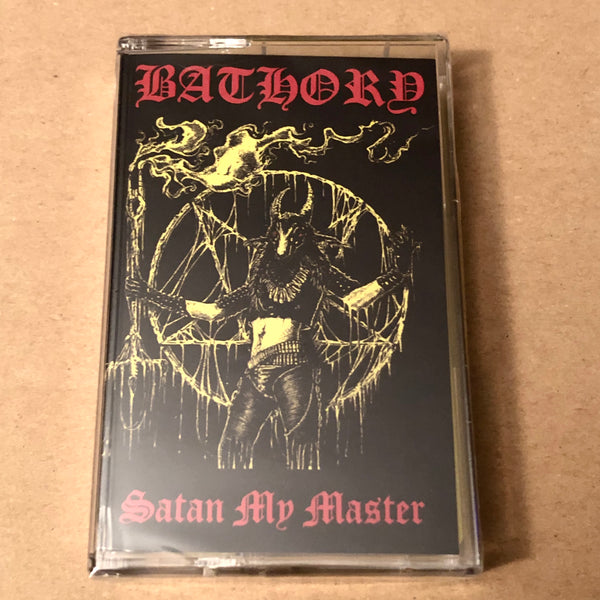 "Bathory ""Satan My Master"" tape"