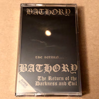 "Bathory ""The Return"" tape"