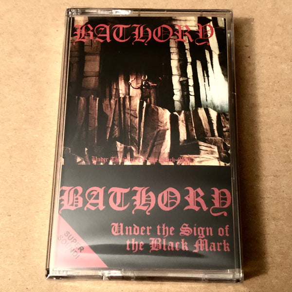 "Bathory ""Under the Sign of the Black Mark"" tape"