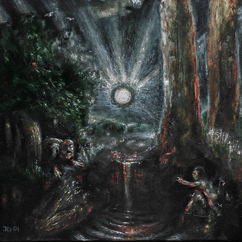 "Absurd ""Werwolfthron"" LP"