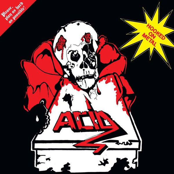 "Acid ‎""Hooked On Metal"" LP"