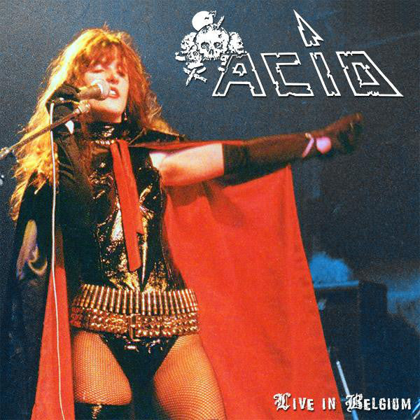 "Acid ""Live in Belgium '84"" CD"