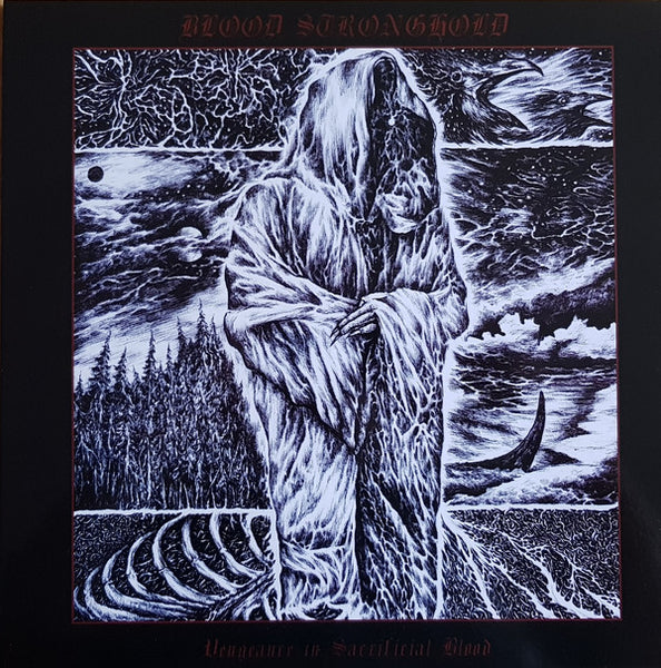 "Blood Stronghold ""Vengeance In Sacrificial Blood"" LP"