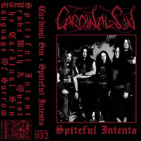 "Cardinal Sin ""Spiteful Intents"" tape"