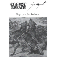 "Cosmic Breath / Faustgeist ""Deplorable Wolves"" split tape"
