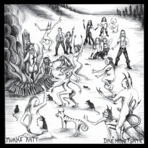 "Demons Gate / Murkrat ‎""Demons Gate In Cahoots With Murkrat"" split 7"""
