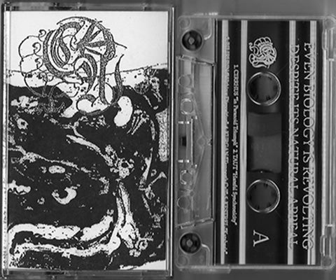 """Even Biology Is Revolting Despite Its Natural Appeal"" tape"