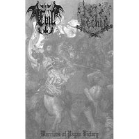 "Evil / Lechia ‎""Warriors Of Pagan Victory"" split tape"