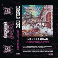 "Manilla Road ""Open the Gates"" tape"