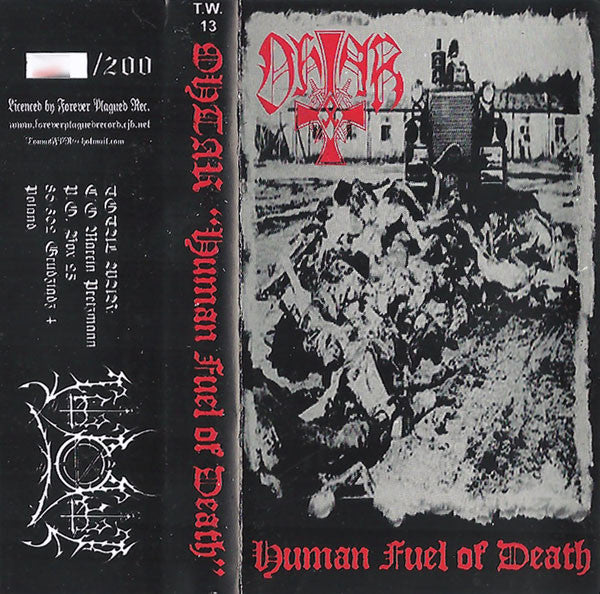 "Ohtar ""Human Fuel Of Death"" tape"