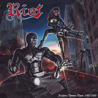 "Riot ""Archive Volume 3: 1987-1988"" DLP + DVD"