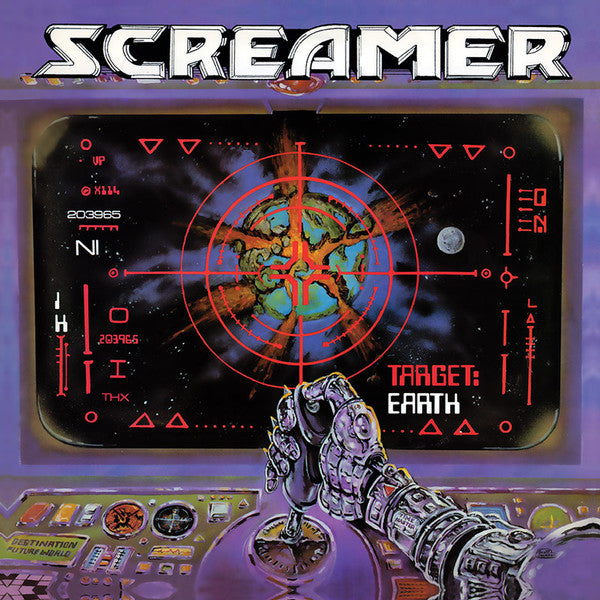 "Screamer ""Target: Earth"" LP"