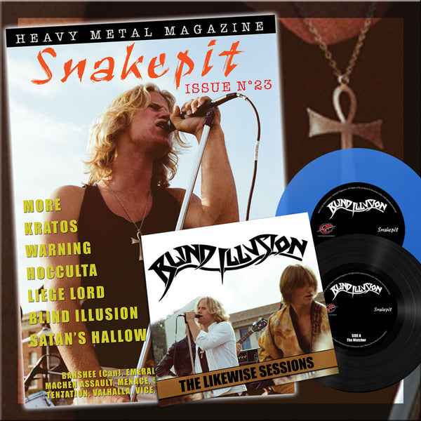 Snakepit Magazine #23 with Blind Illusion 7""
