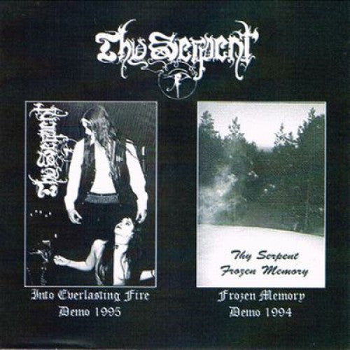 "Thy Serpent ""Frozen Memory / Into Everlasting Fire"" CD"