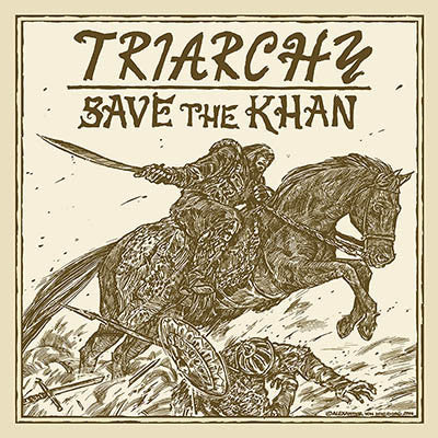 "Triarchy ""Save the Khan"" CD"