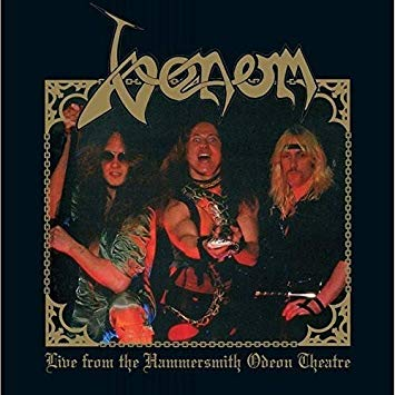 "Venom ""Live from the Hammersmith Odeon Theatre"" LP"