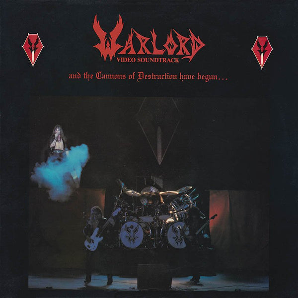 "Warlord ""And The Cannons Of Destruction Have Begun..."" LP"