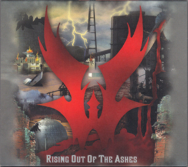 "Warlord ""Rising Out Of The Ashes"" 2CD"