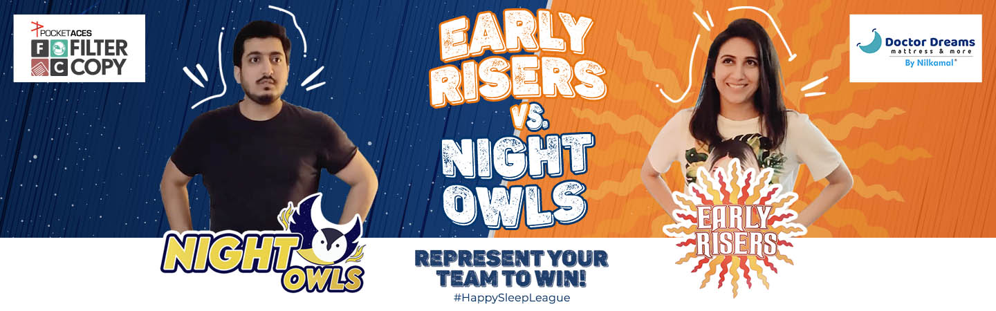 Banner of Night Owls vs. Early Risers