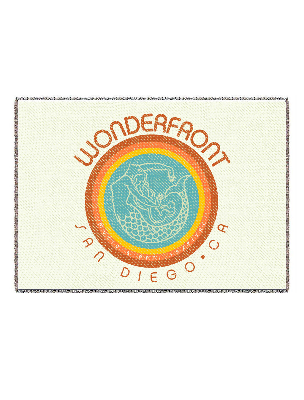 Wonderfront Throw Blanket