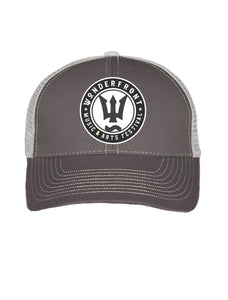 Grey Mesh Trucker Hat