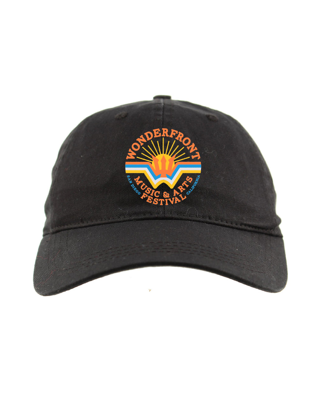 Jet Black Wonderfront Dad Hat