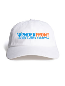 White Wonderfront Dad Hat
