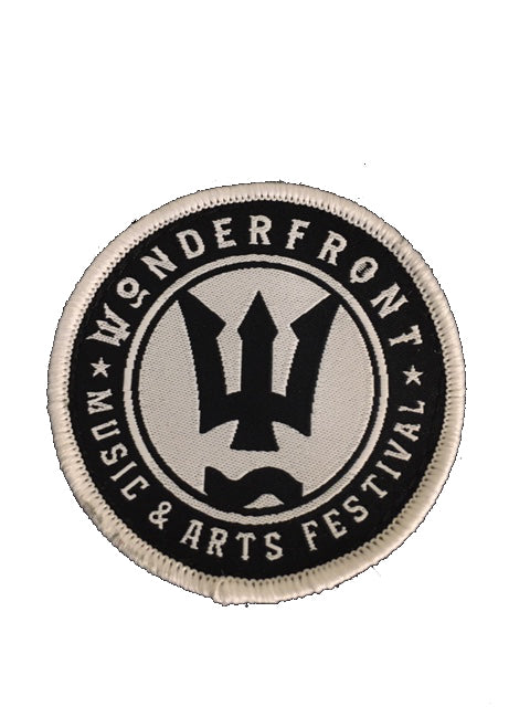 Wonderfront Circle Logo Patch