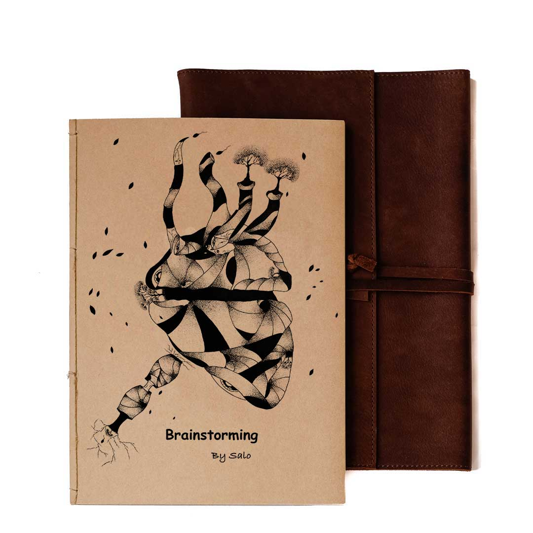 "Elf Bread 6.0 -  Notebook ""Brainstorming"" (A5)"
