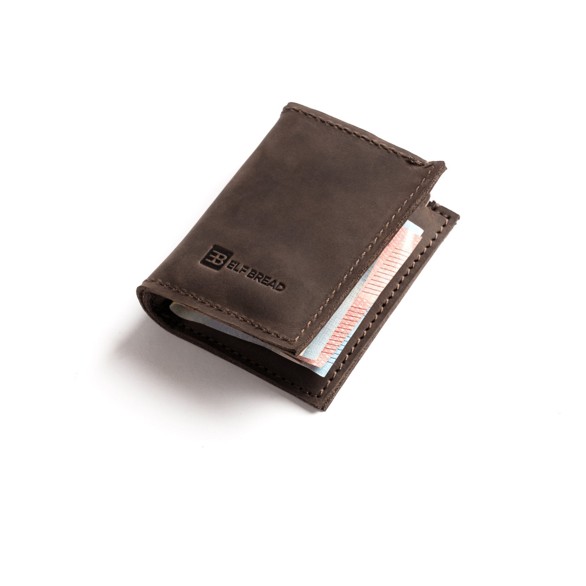 leather wallet made by hands