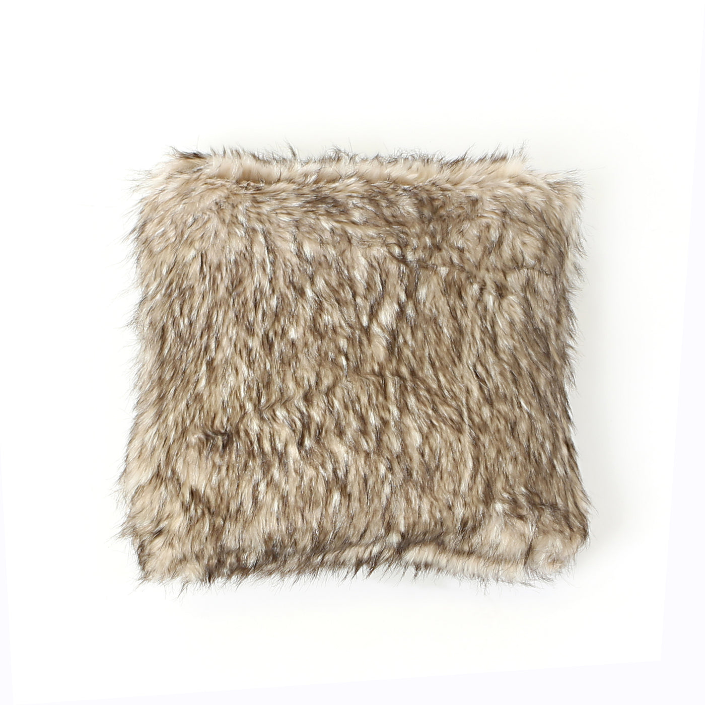 Faux Fur Pillow - Pearl Finn Raccoon